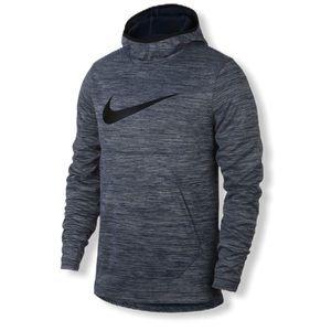 Nike Spotlight Pullover Blue Spacedye Hoodie